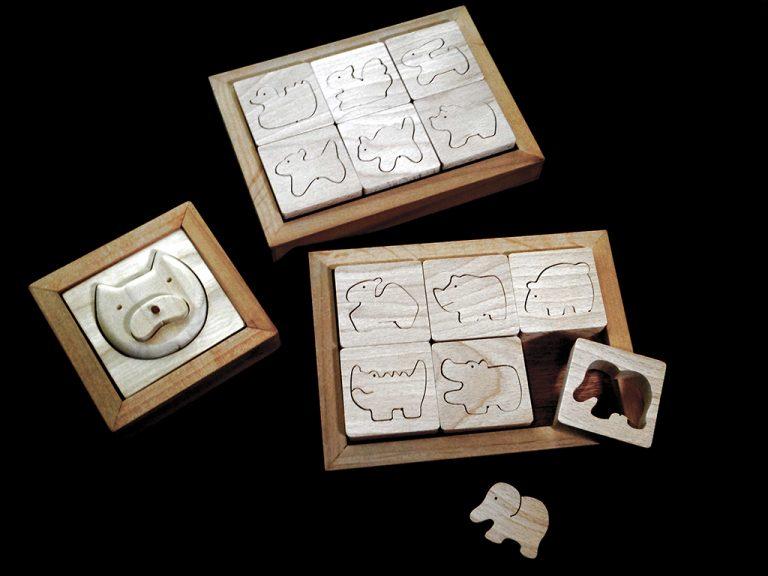 木のパズル ピアワーク・オアシス