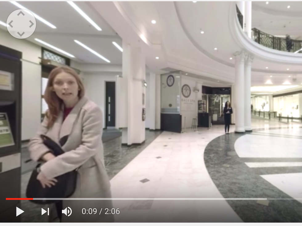 360度見わたせるバーチャルリアリティでの自閉症の体験動画 yt1