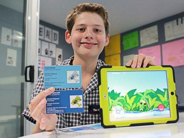大統領に会えた?アプリ開発する発達障害の11歳
