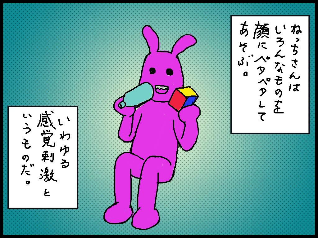 4コマ漫画 うちのねっちさん 13