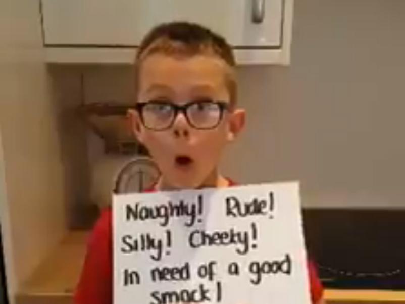 トラブルメーカーと呼ばれた少年が投稿した動画 b1