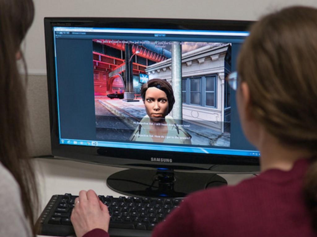 発達障害児が視線を合わせ表情を学ぶゲーム