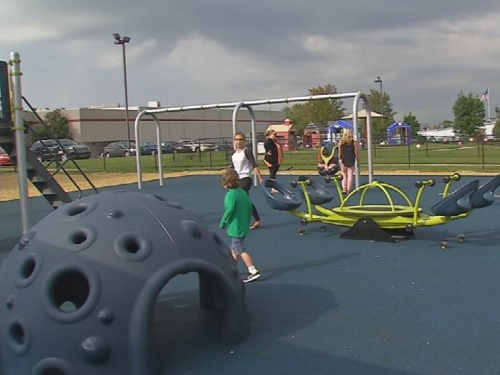 発達障害児向けの安全な公園が誕生