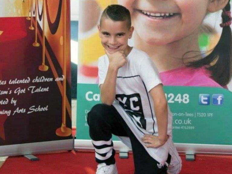 9歳の発達障害の少年が不安障害にも負けず舞台でブレイクダンス