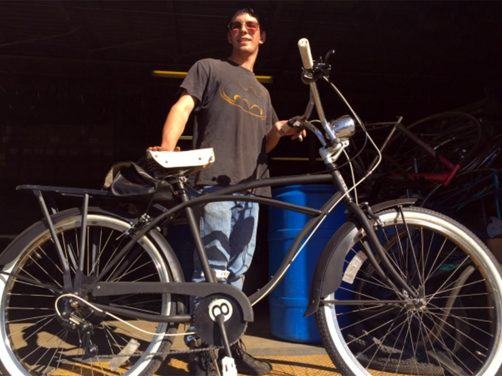 発達障害者の就業機会を再生自転車で作る