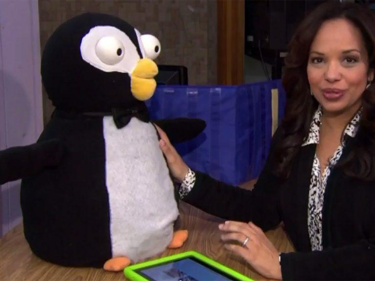 ペンギン型ロボットで安価な療育をめざす