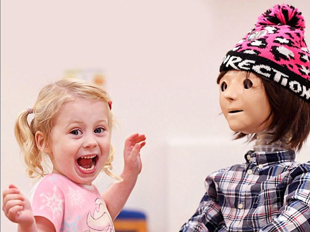 発達障害の子を変えるあやつり型ロボット
