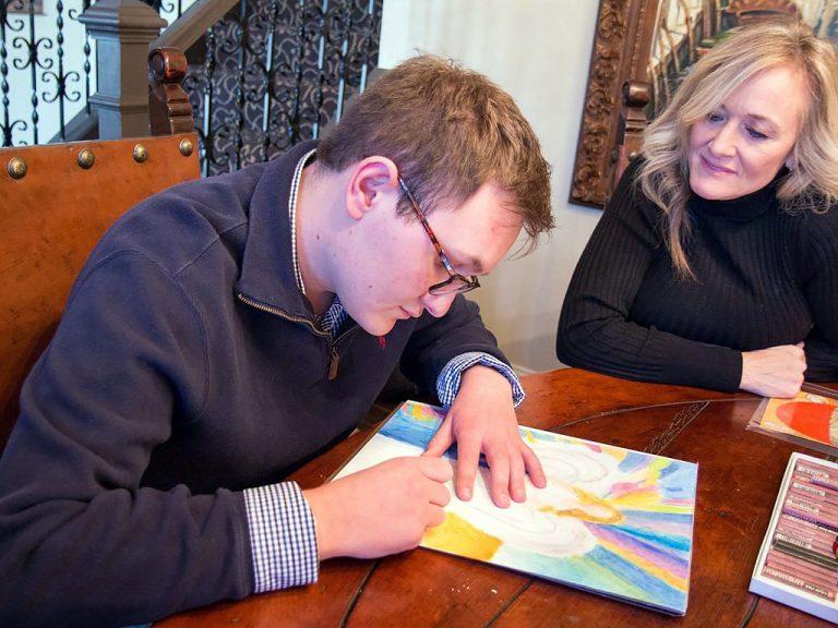 発達障害の息子の将来を一緒に絵本で作る