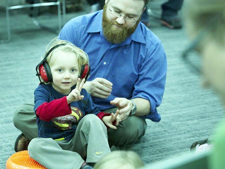 発達障害の子にやさしい図書館のとりくみ