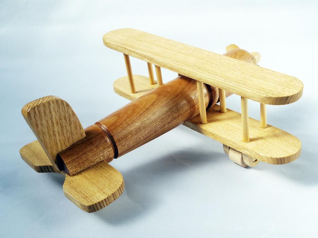 木の飛行機とレーシングカー ピアワーク・オアシス 4573460943270-52