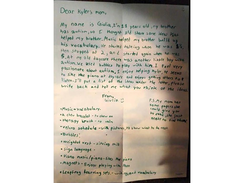 発達障害の息子を応援する女の子からの手紙 t1