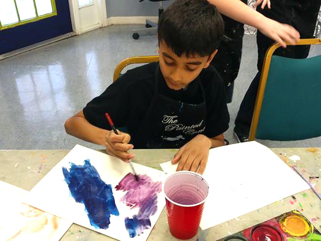 自閉症の子どもたちと親を助けるアート教室