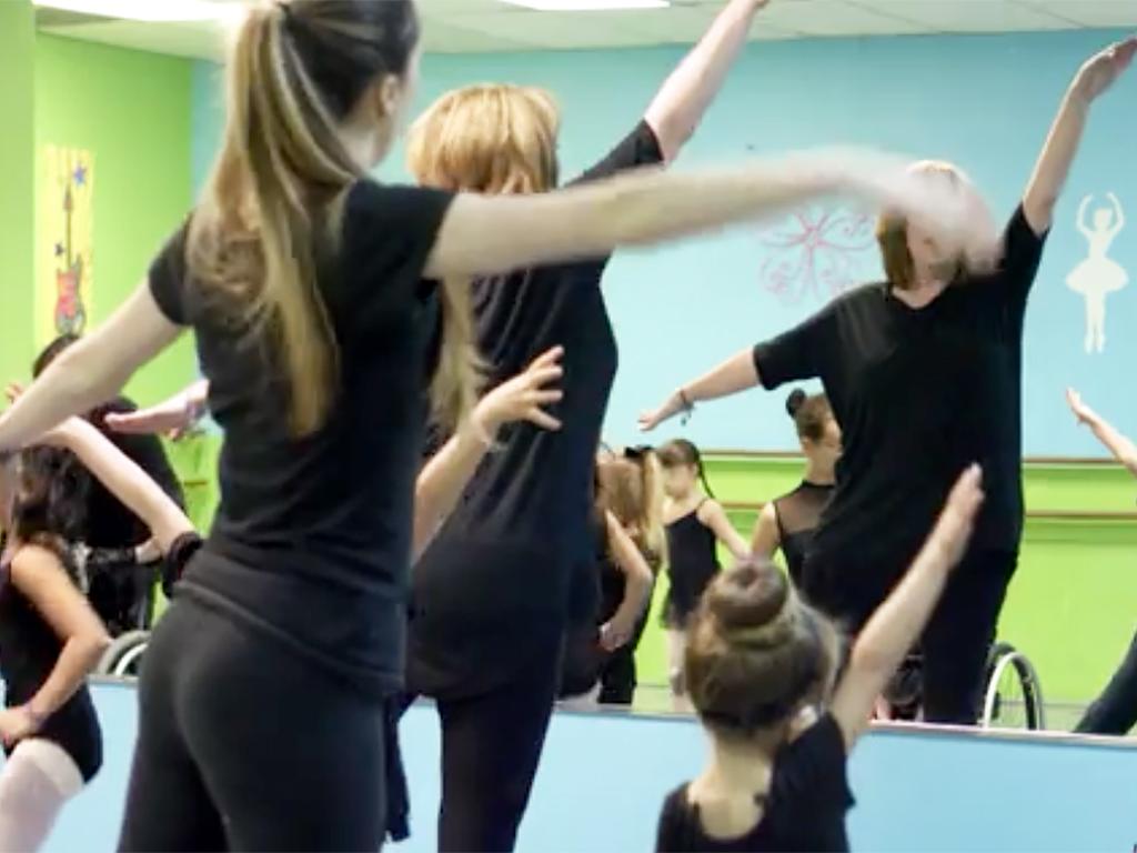 特別支援が必要な子どもたちへのダンス教室