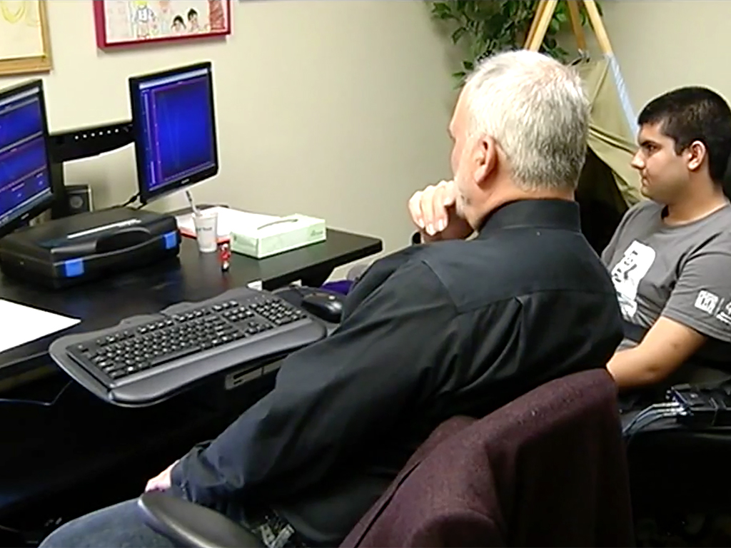 発達障害者の不安対応を助けるTVゲーム