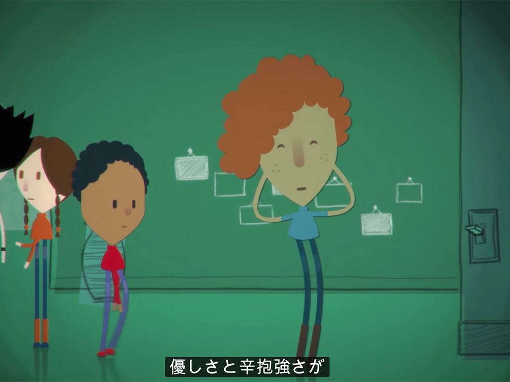 発達障害のアニメ、多くの子どもに見てほしい。 m7