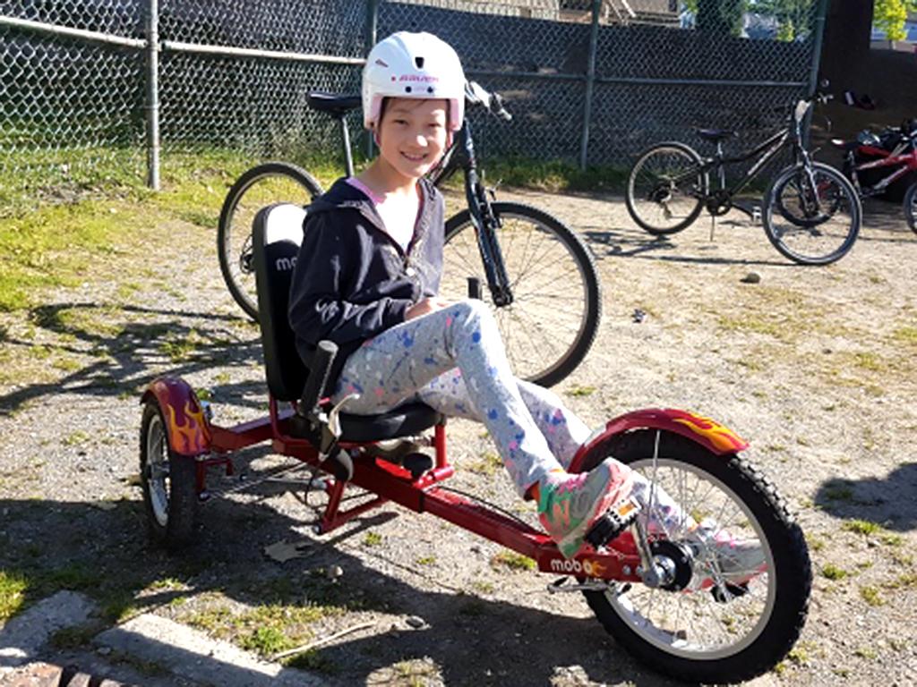 自転車が怖かった発達障害の子たちも3輪自転車で練習ができる