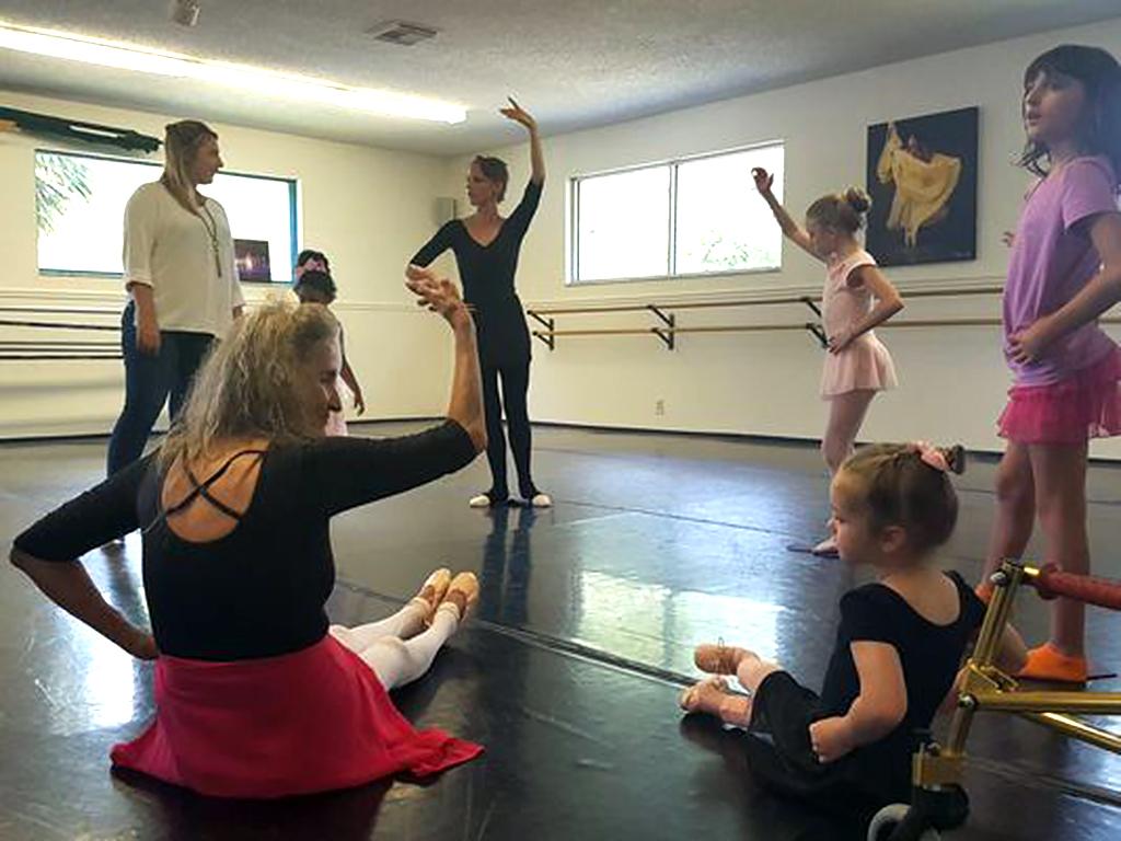 特別支援が必要な子ども向けのバレエ教室