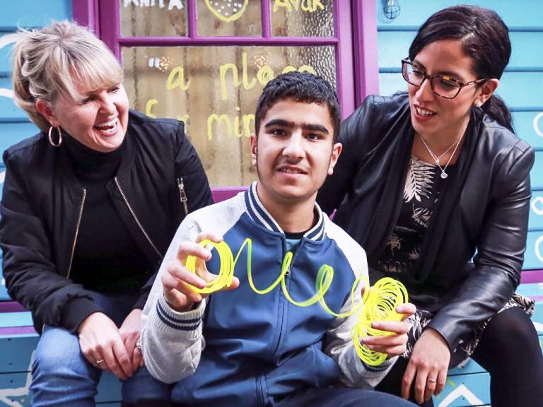 話せない発達障害の子との交流ボランティア