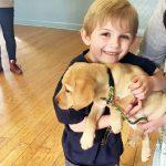 発達障害少年は助けてくれる犬を自ら育てる