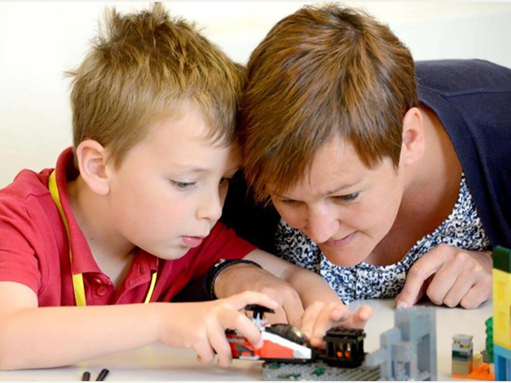 特別支援学校等で進められるレゴによる療育
