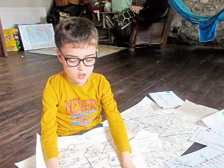 ナビはいらない。地図を記憶する発達障害児