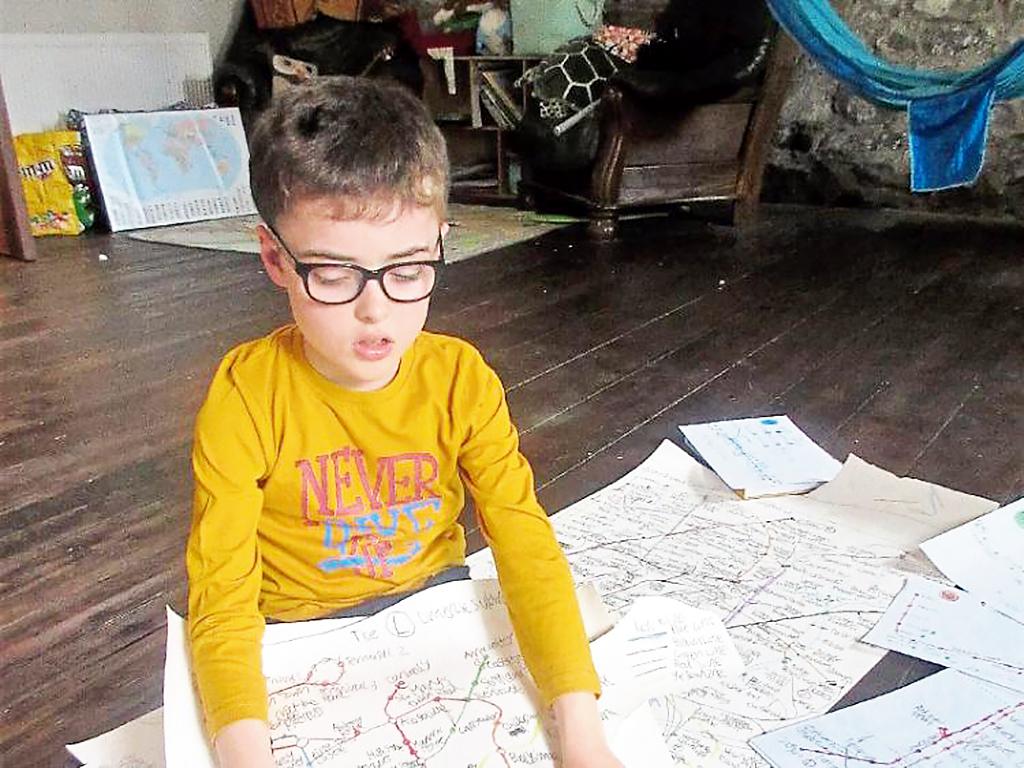 地図を記憶する発達障害児、ナビはいらない
