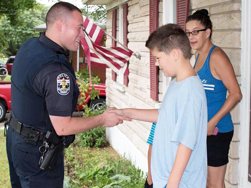 発達障害の少年の母のお願いに応えた警察