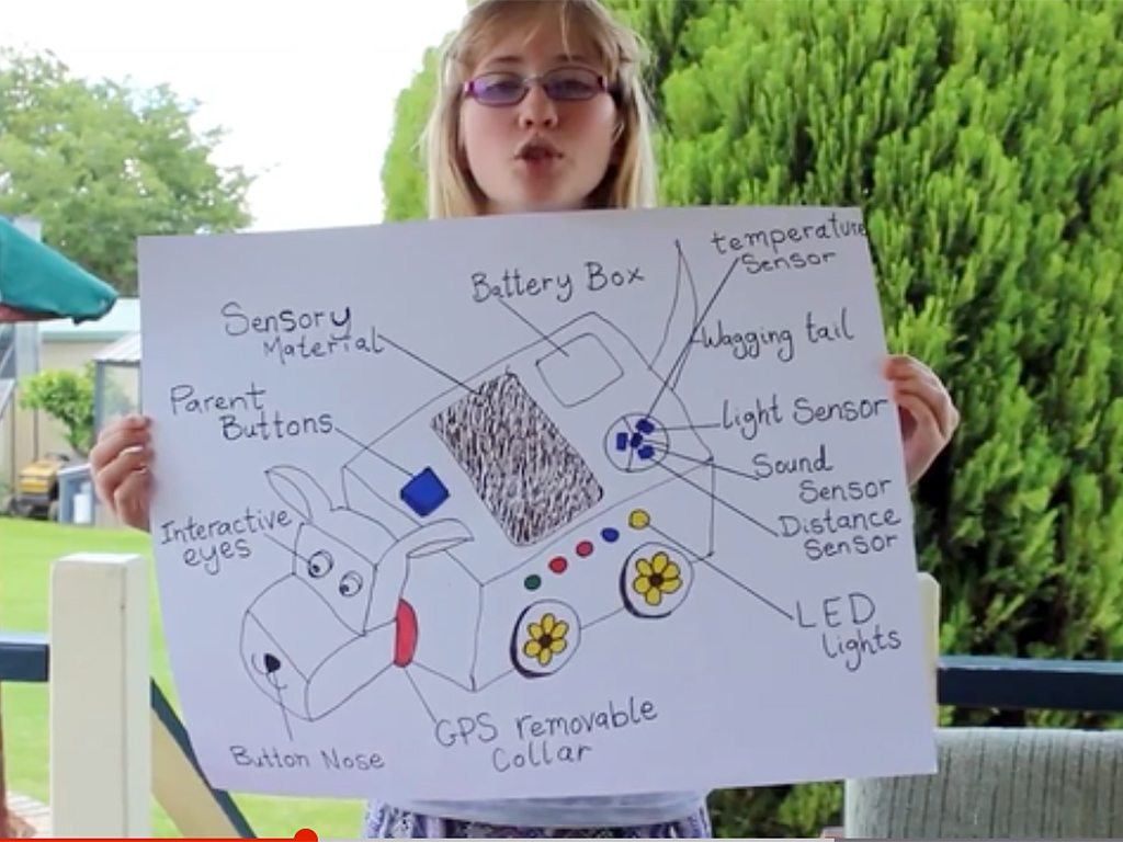 発達障害の少女がロボット犬を作りNASAへ d2-1