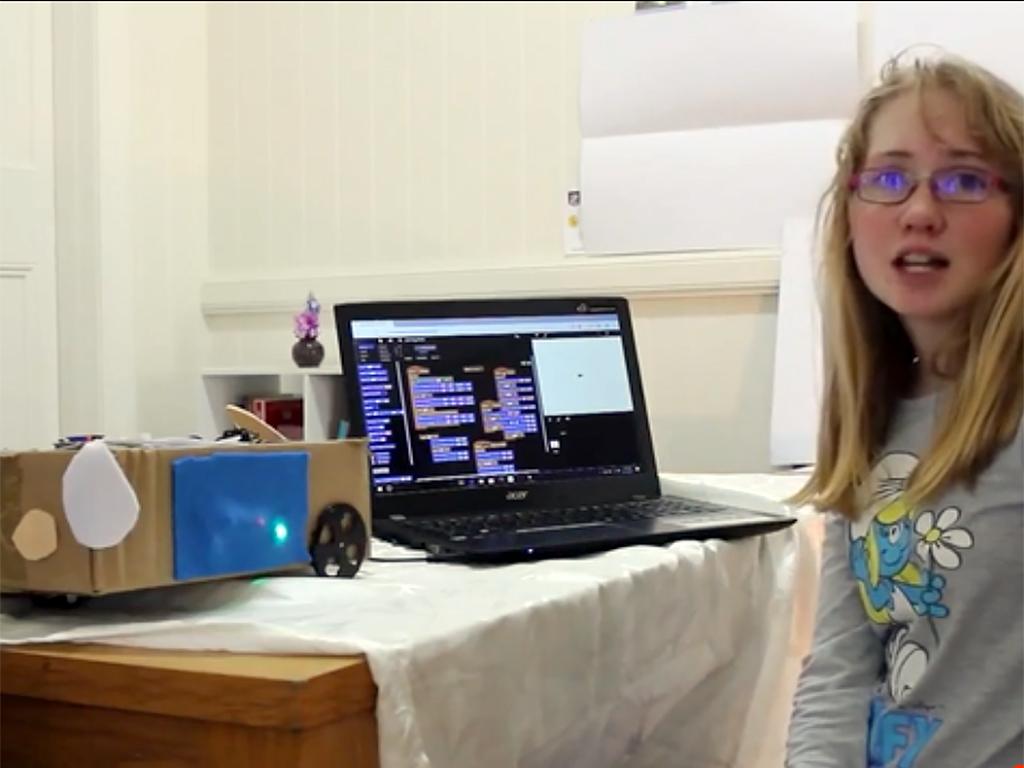 発達障害の少女がロボット犬を作りNASAへ d6-1
