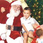 サンタさんと発達障害の息子の写真が欲しい