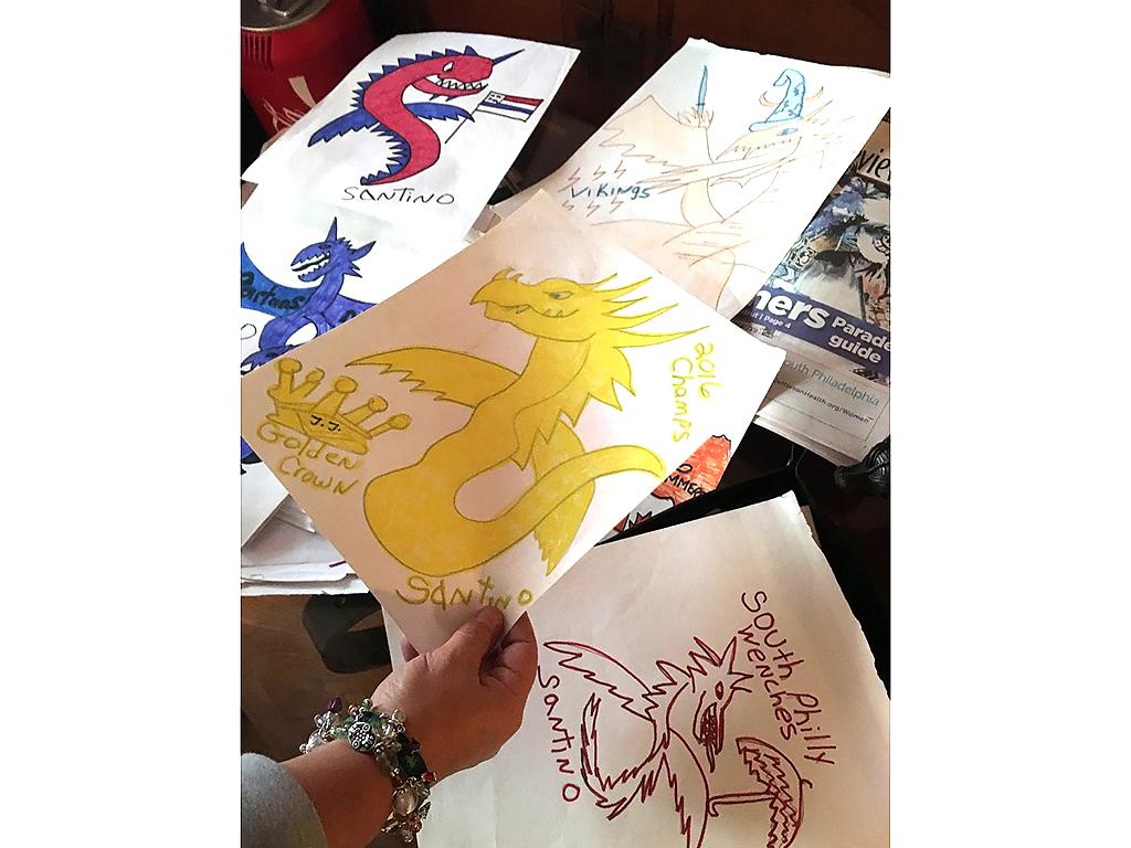 発達障害の少年のコミュニケーションはドラゴンを描くことだった d5-3