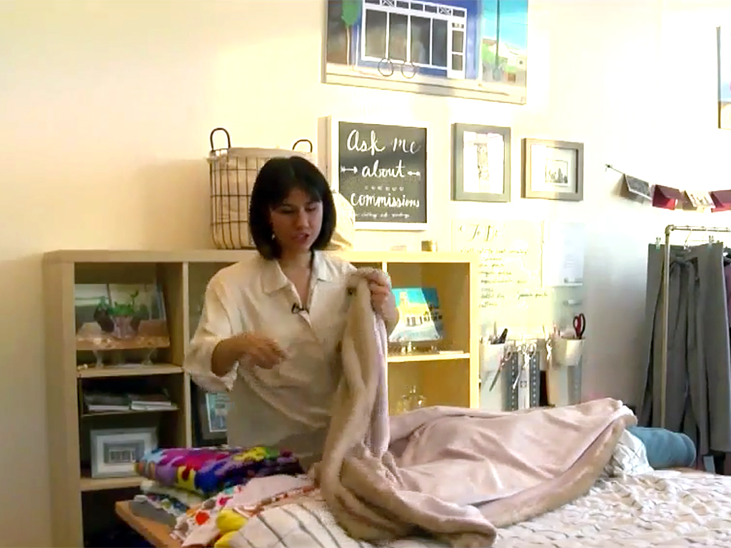重さのある毛布とひざかけが不安障害や発達障害の人たちを助ける m10
