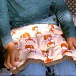 発達障害の子の生活を助ける重いひざかけ