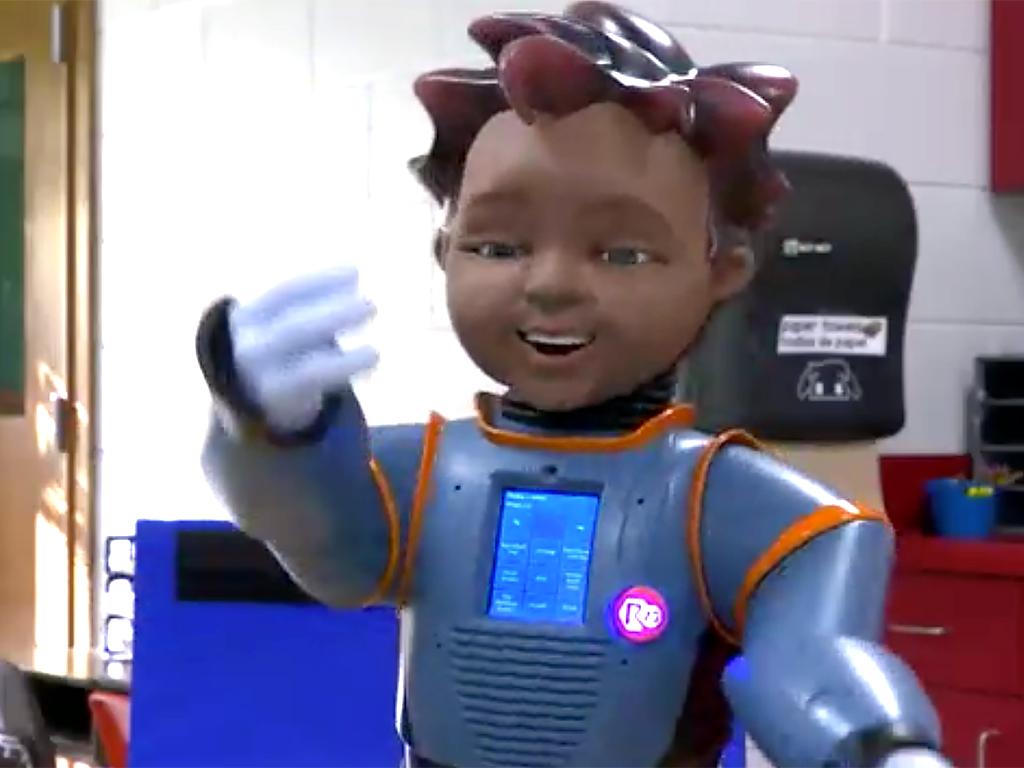 発達障害児向けロボットの学校導入が進む r19