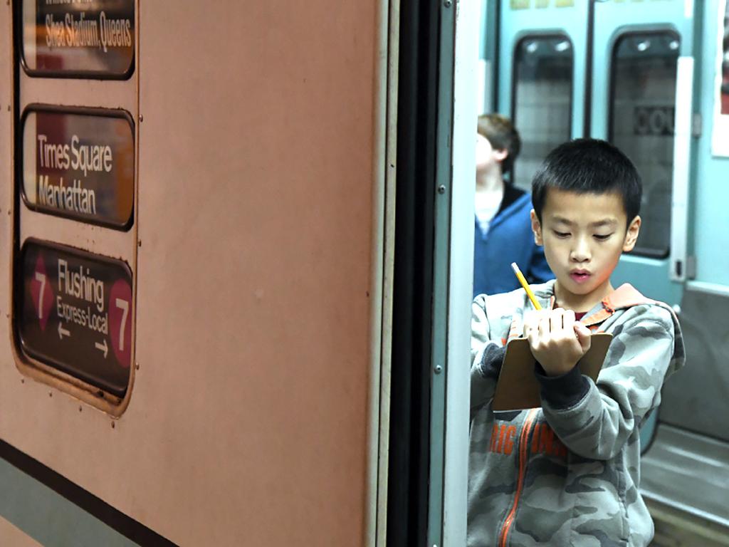 発達障害の子のためのニューヨーク交通博物館の放課後プログラム