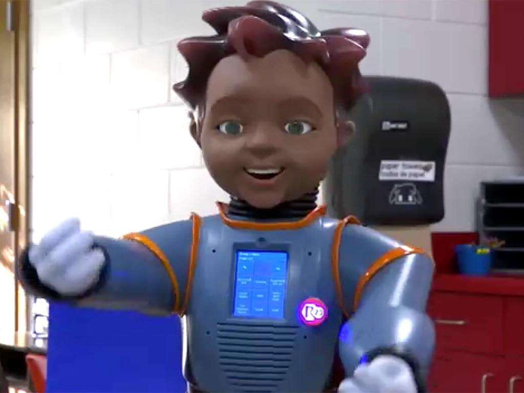 米国では発達障害の子への教育のため学校へのロボット導入が進む r21