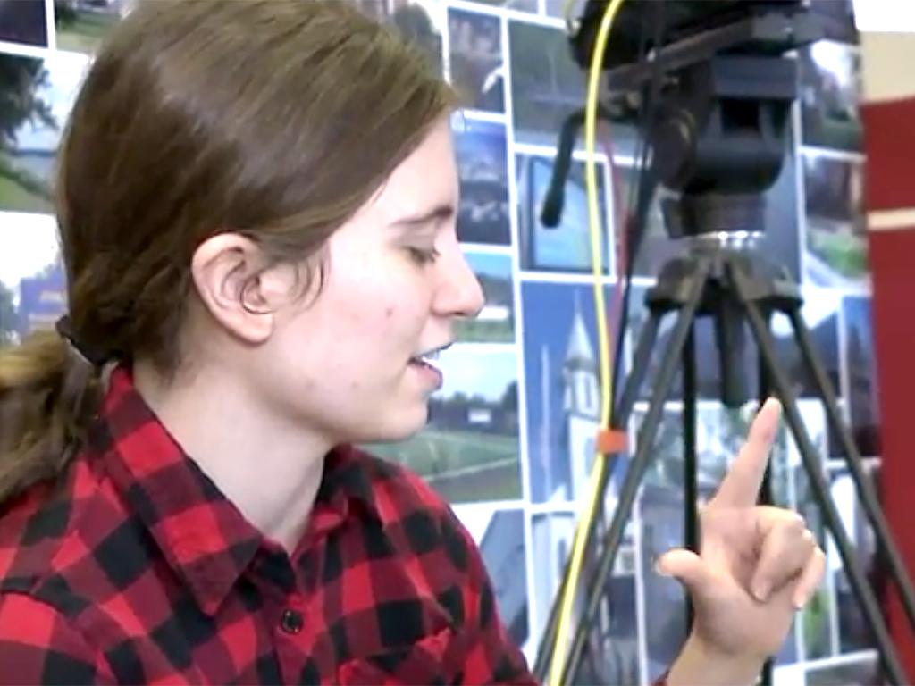 ディズニーのプログラムに選ばれて、発達障害の少女は夢を叶える