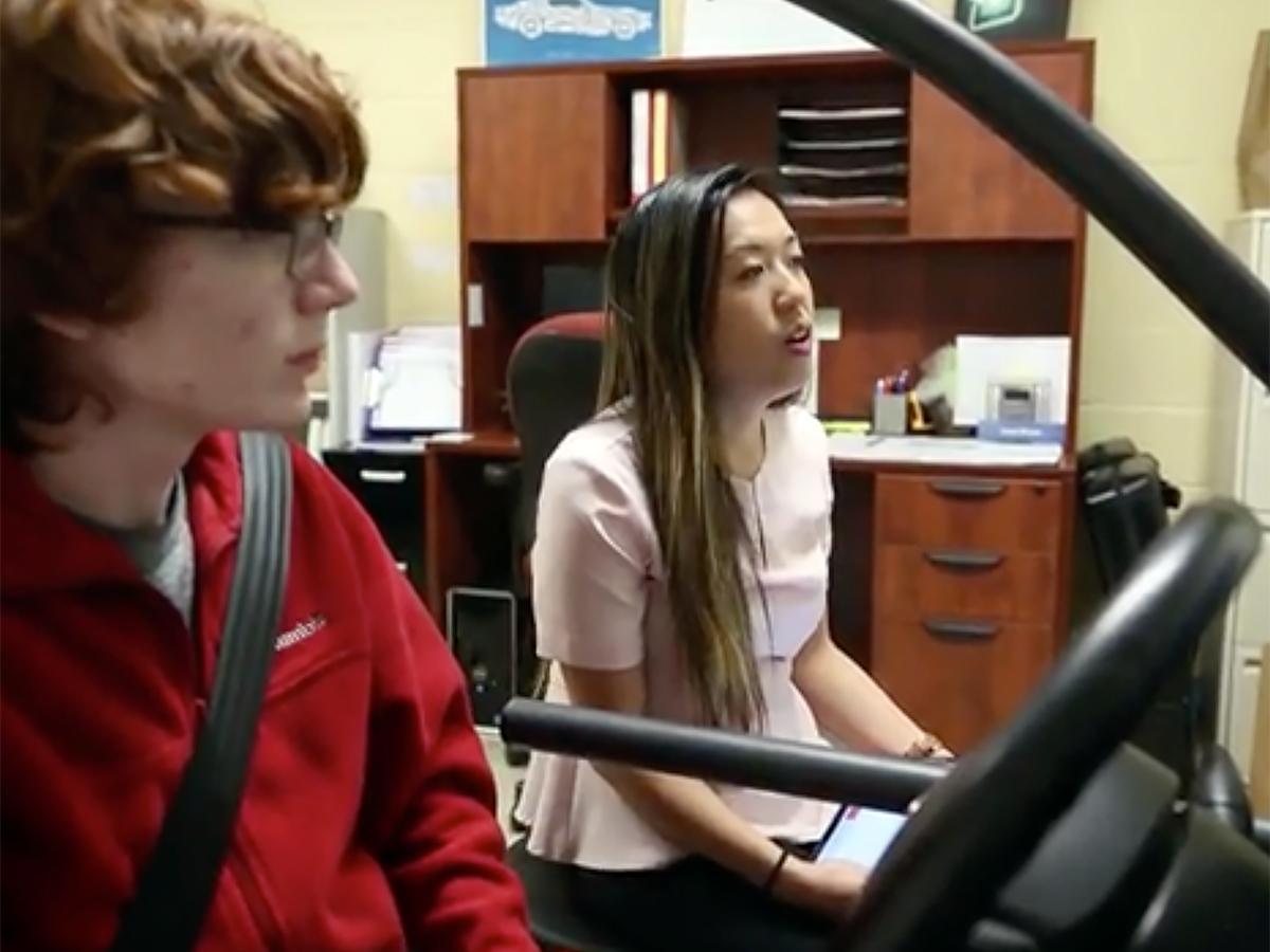 雇用されない理由にも。発達障害の人が学べる運転シミュレータ d8-2