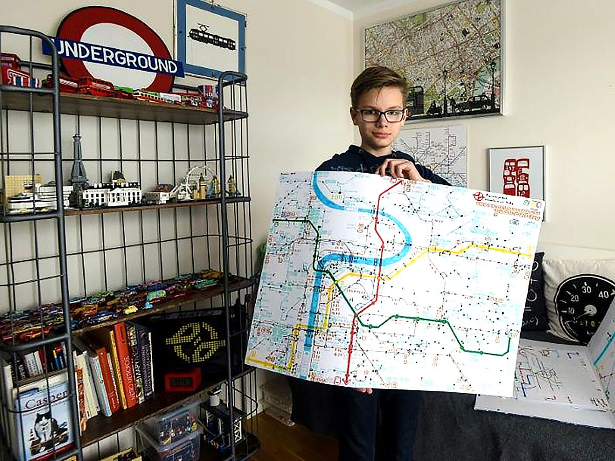 発達障害の息子が地図を描き生活が変わった