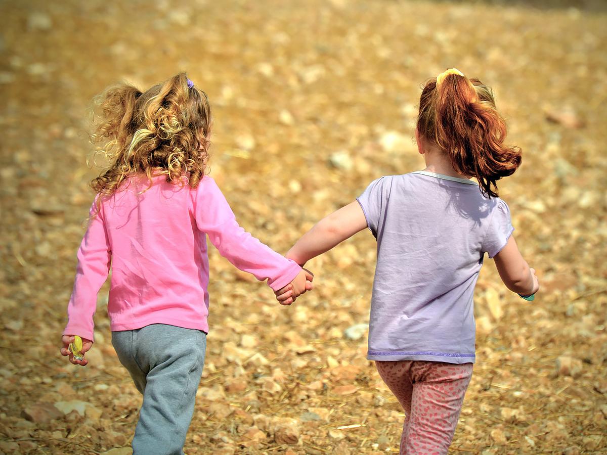 発達障害の子が一緒に遊べるように先生と発達障害でない子が協力