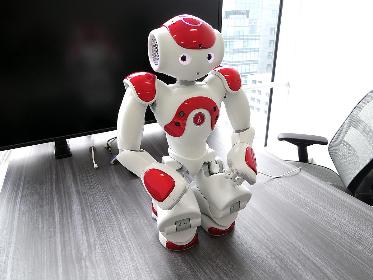 自閉症など発達障害の子を助けるロボットのNAOに会いました n7