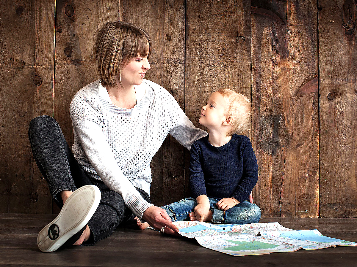 親が会話のしかたを学ぶことで、発達障害の子の言葉の能力が向上 p2
