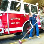 知的障害の男性が消防署で働き夢をかなえる