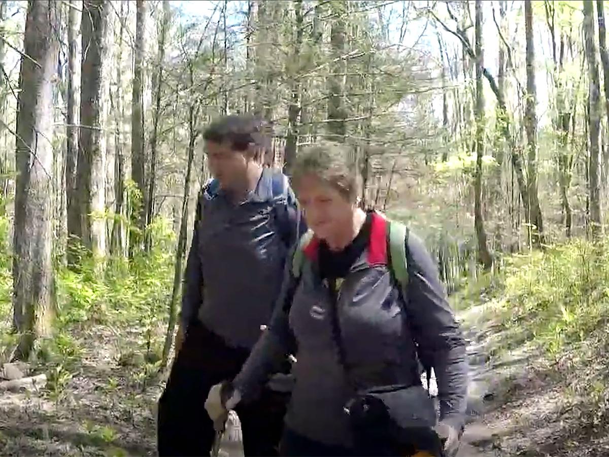 発達障害の青年は母と自然公園の約1500kmの全コースを制覇 t3-2