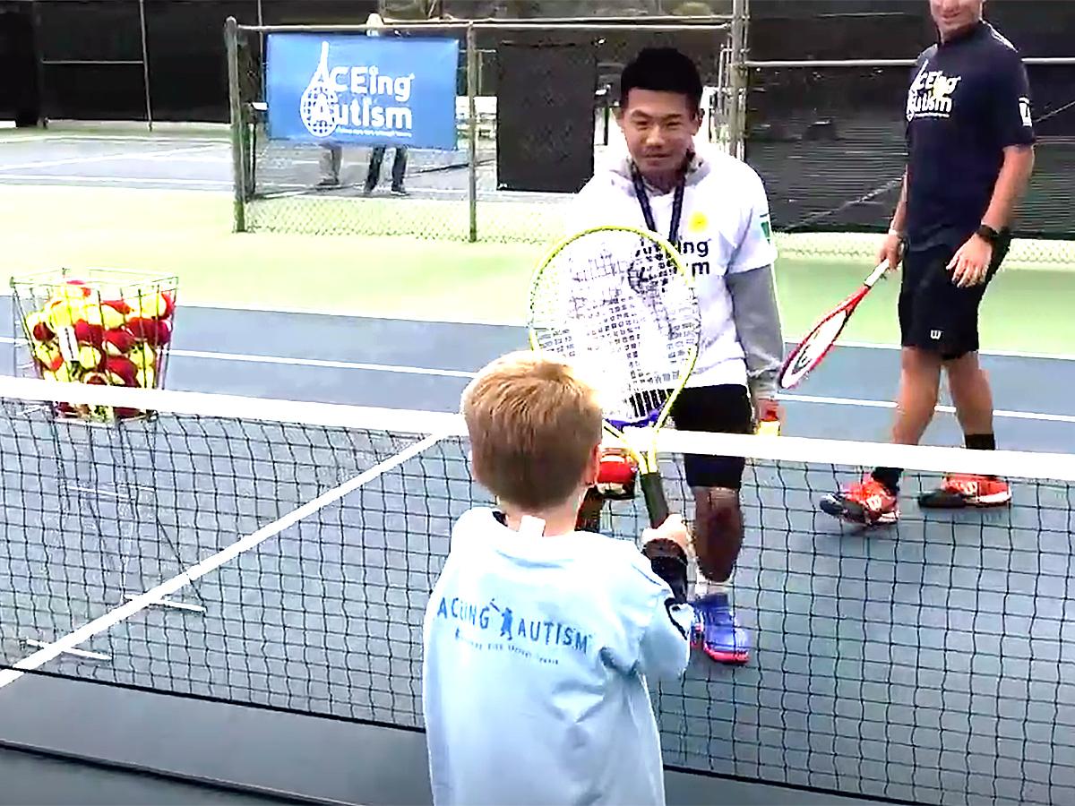 発達障害の子が楽しみながら、運動能力、社会性を培うテニス療育 t5