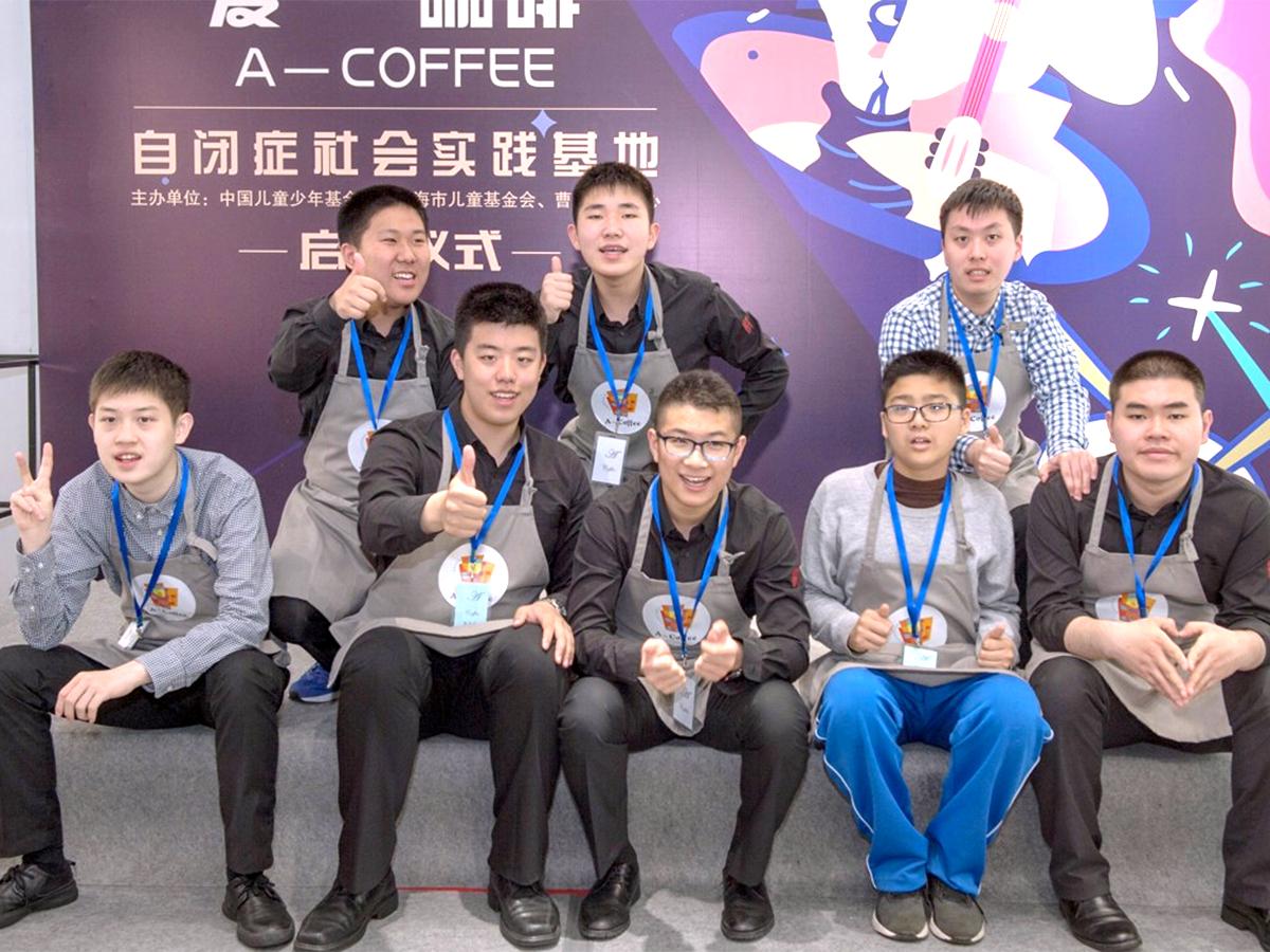 研修を受けた100名がお客の発達障害の人が学べる中国のカフェ c3-3