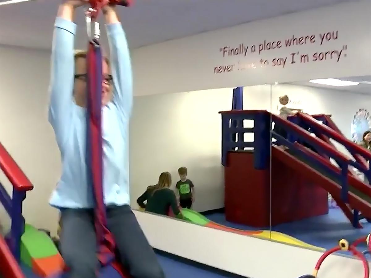 発達障害など特別支援が必要な子たちの感覚に配慮した安全なジム g10