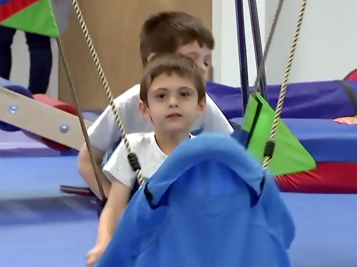 発達障害など特別支援が必要な子たちの感覚に配慮した安全なジム g3-2