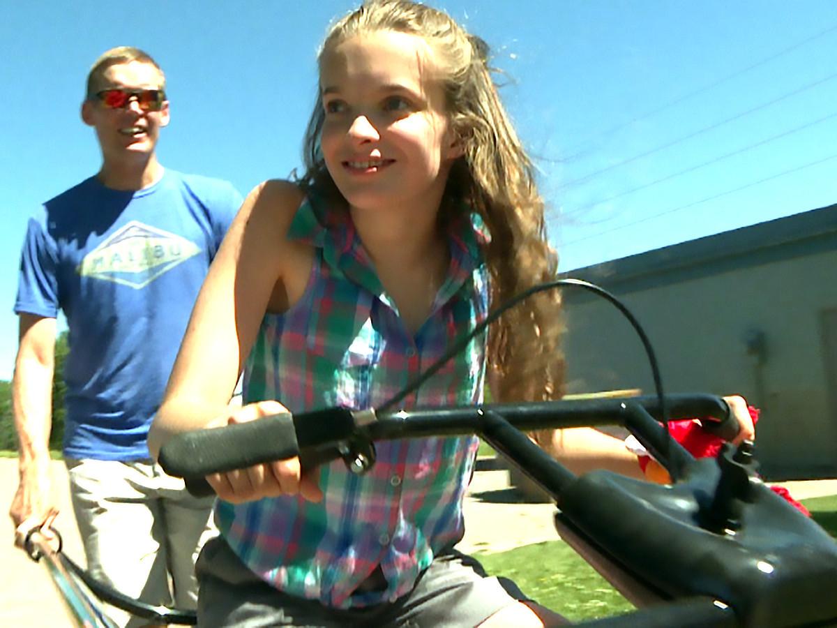 自転車が発達障害の娘を外へ連れ出し、人生に喜びをもたらした