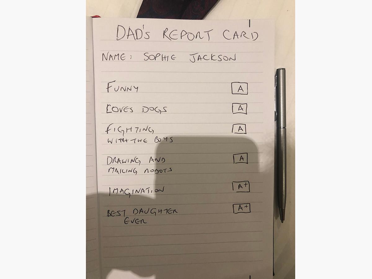 オールDで落ち込んでいた発達障害の娘に父が書いて渡した通知表 f5
